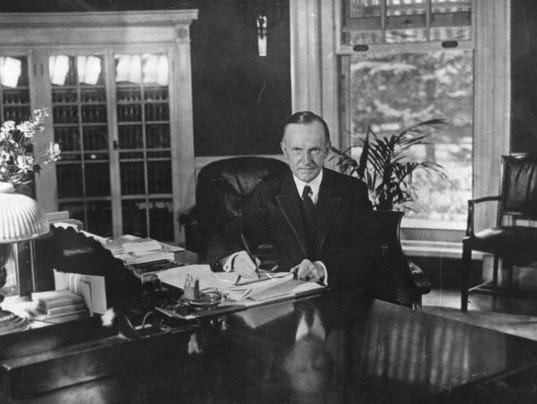 Coolidge In The White House