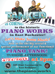 Tanked is coming to East Rochester on Tuesday, April