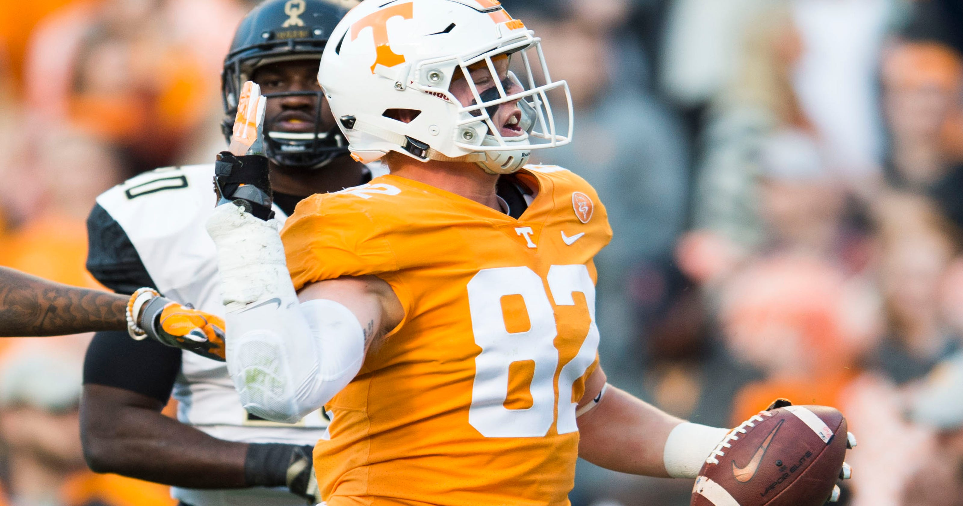 UT Vols: Tennessee TE Ethan Wolf has NFL draft hopes ...