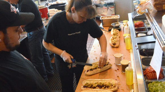 Capriotti's in Newark. The company launched a new location in North Las Vegas.