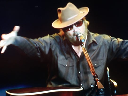 Hank Williams Jr. plays a variety of instruments in
