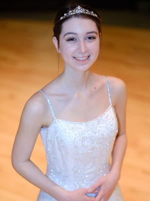 """Kati Murdock stars as Ella in Somerville High School's rendition of """"Cinderella"""" at 7 p.m. March 1, 2 and 3, with a special matinee 2 p.m. March 3."""