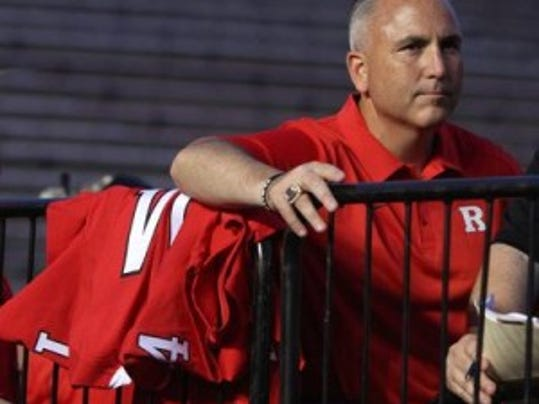 Rutgers football coach Kyle Flood has named Phil Galiano as Director of Recruiting Operations. Galiano was working in player development since returning to Rutgers after last season. (Mark Sullivan/MyCentralJersey.com)