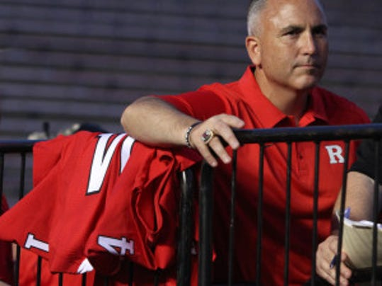 Rutgers football coach Kyle Flood named Gary Nova his starting quarterback Wednesday. Now he must decide on a No. 2 quarterback. (Mark Sullivan/MyCentralJersey.com)