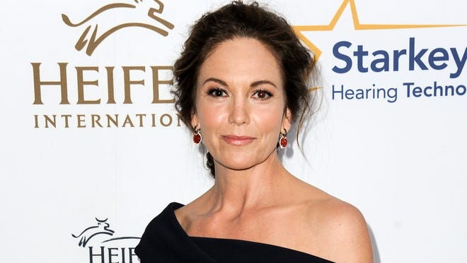 """Diane Lane arrives at the 3rd Annual Beyond Hunger Gala, in Beverly Hills, California on Aug. 22, 2014. Lane returns to the stage in """"The Mystery of Love & Sex,"""" a new play by Bathsheba Doran at Lincoln Center Theater in New York,  the same place where in 1977 at age 12, she was in the ensemble of """"The Cherry Orchard"""" with Raul Julia and Meryl Streep."""