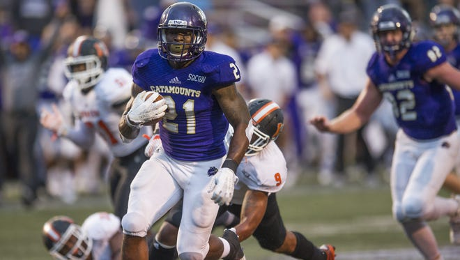Detrez Newsome scored all four of Western Carolina's touchdowns in the loss to East Tennessee State.