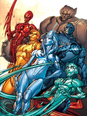 """The metallic heroes of """"Metal Men"""" get a reintroduction into the DC Comics landscape with a new miniseries."""