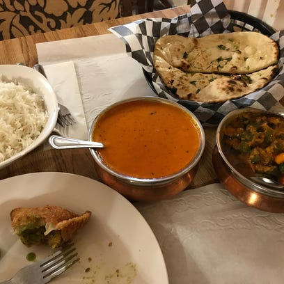 Some of the dishes on the menu at Spicy India include,