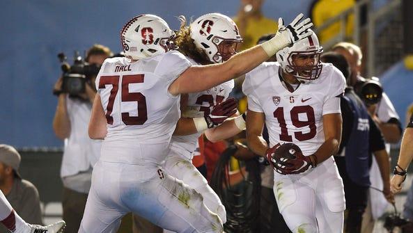 Stanford Cardinal wide receiver JJ Arcega-Whiteside