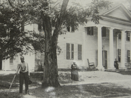 This undated picture shows a time on Fort Hill Plantation