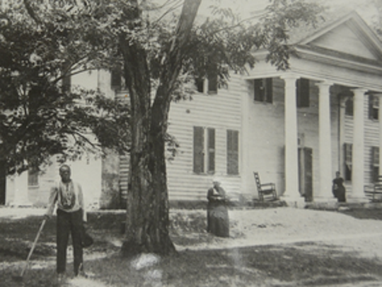 This undated picture shows a time on Fort Hill Plantation that has largely been missing from Clemson University's history. Professor Rhondda Thomas has been working to add the Fort Hill's slaves and laborers into the university's story.