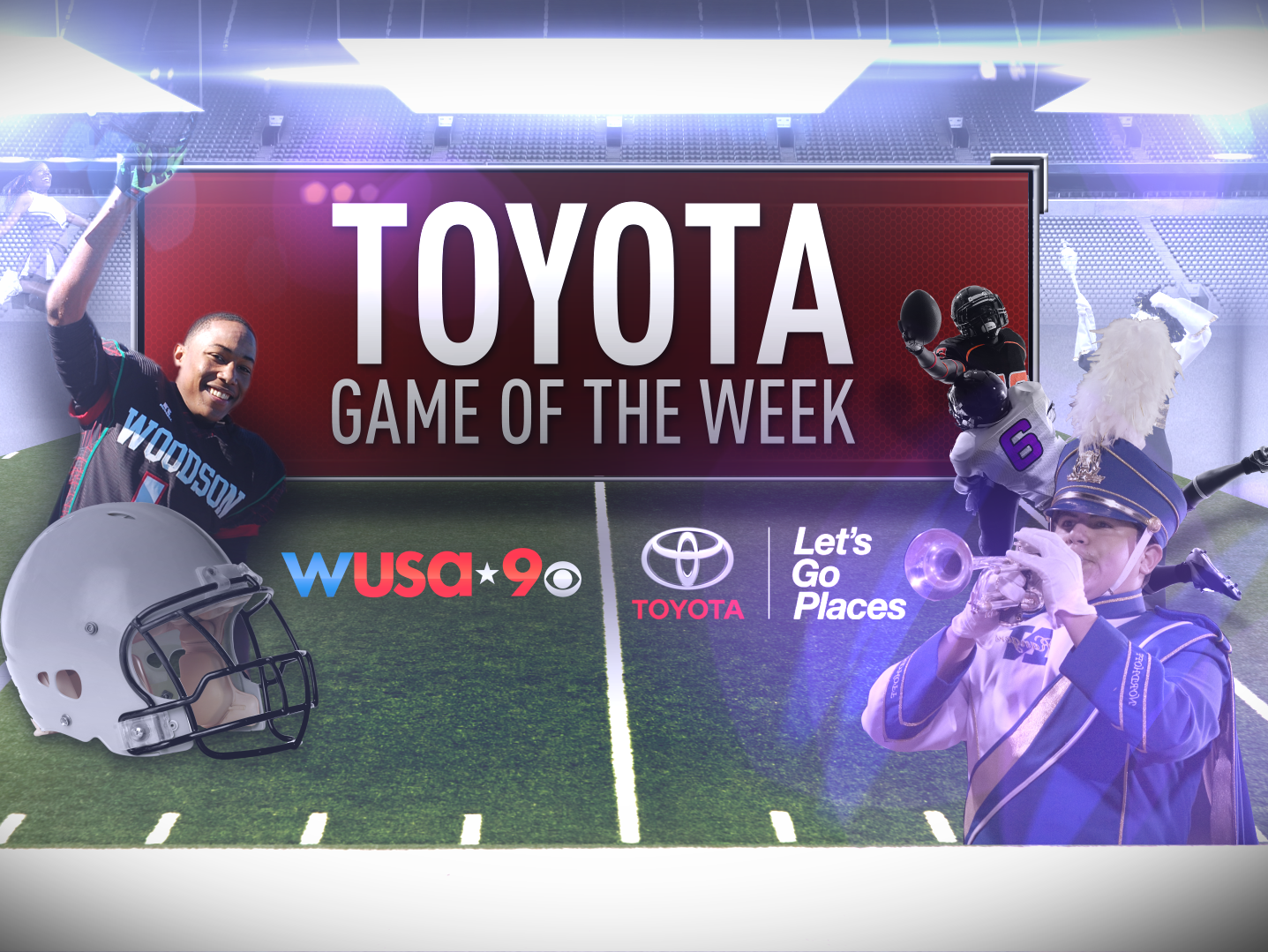 Which matchup should be named Toyota Game Of The Week for Friday, September 19, 2014?