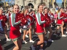 Centerville cheerleaders perform at Disney World Resort