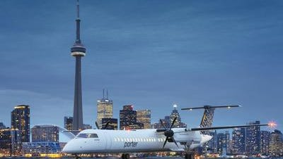Porter Airlines, based in Toronto, Canada, begins flights to Melbourne International Airport on Saturday.