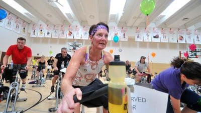 The YMCA is continuing its Daniel J. Rupar Pedal it Forward indoor cycling fundraiser.