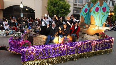 Rodeo royalty ride in last year's Colmo del Rodeo parade.