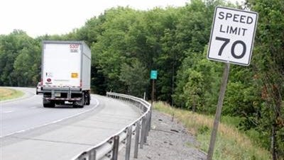 The Turnpike speed limit  increase began this week.