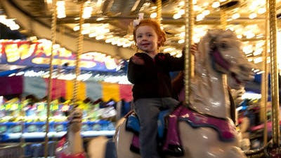 The Cape Coral Coconut Festival features carnival rides for children and adults.