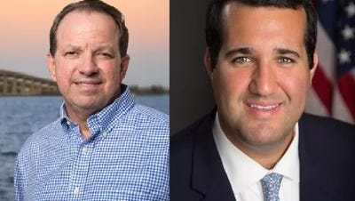 Cocoa Mayor Henry Parrish III (left) and Tyler Sirois, executive director of the State Attorney's Office for the 18th Judicial District, are meeting in the GOP primary for Florida House District 51. istrict 51 includes most of Northern Brevard County, including Merritt Island, Port St. John, Cocoa, Cocoa Beach, Rockledge, and Cape Canaveral.