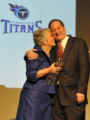 Tennessee Titans Executive Vice President Don MacLachlan