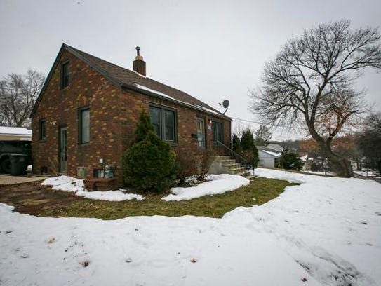 John Eddleman's house in Des Moines, which he bought