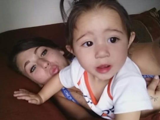 Alexa Coria, left, and RaeLynn Martinez.