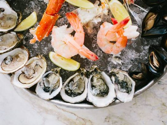 Plateaux de Fruits de Mer is one of the specialties