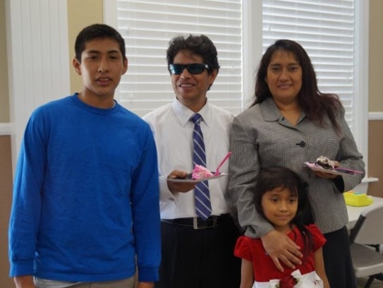 Hit-and-run victim Estela Tejeda-Camacho, right, left behind a son, John, left, and a daughter, Evie, second from right.
