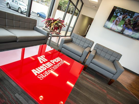 Inside the new Jenkins Building at Austin Peay State