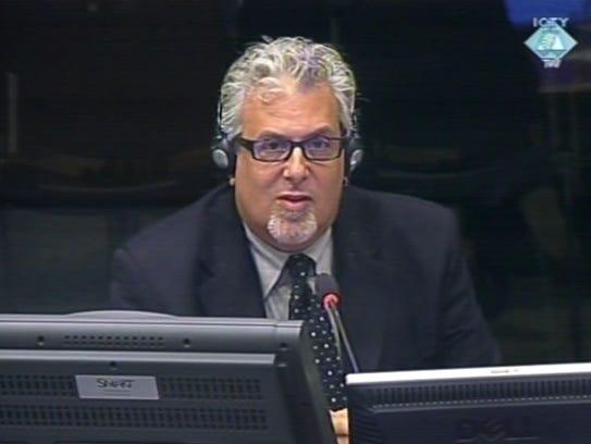 Robert Block testified at a UN war crimes court at