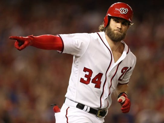 Bryce Harper and the Nationals are the favorites in