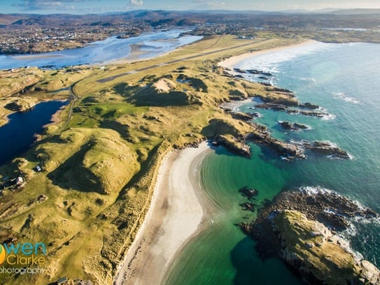 Donegal Airport,Ireland, was ranked as the world's