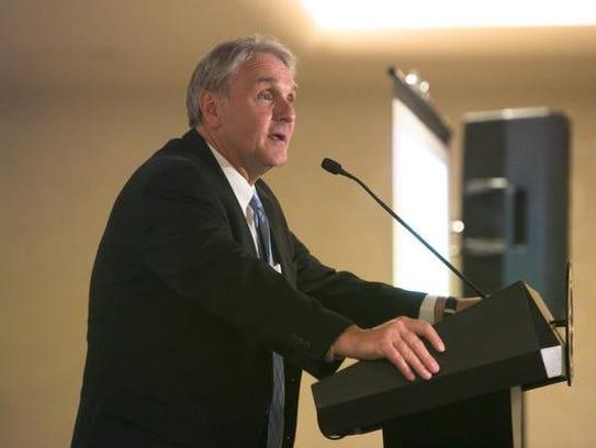 Buncombe County Schools Superintendent Dr. Tony Baldwin