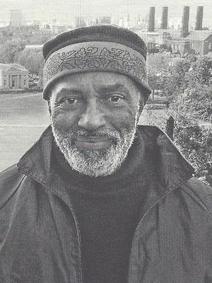 Poet Harold Johnson teaches English and visual art.