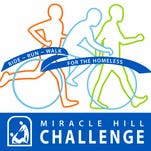 The 12th annual Miracle Hill Challenge will be held June 4 at Furman University with a 5K run/walk, a free Fun Run for kids, cycling distances of 100, 62 or 40 miles, and a 20-mile option along the Swamp Rabbit Trail.
