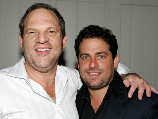 Miramax Films' Harvey Weinstein and director Brett