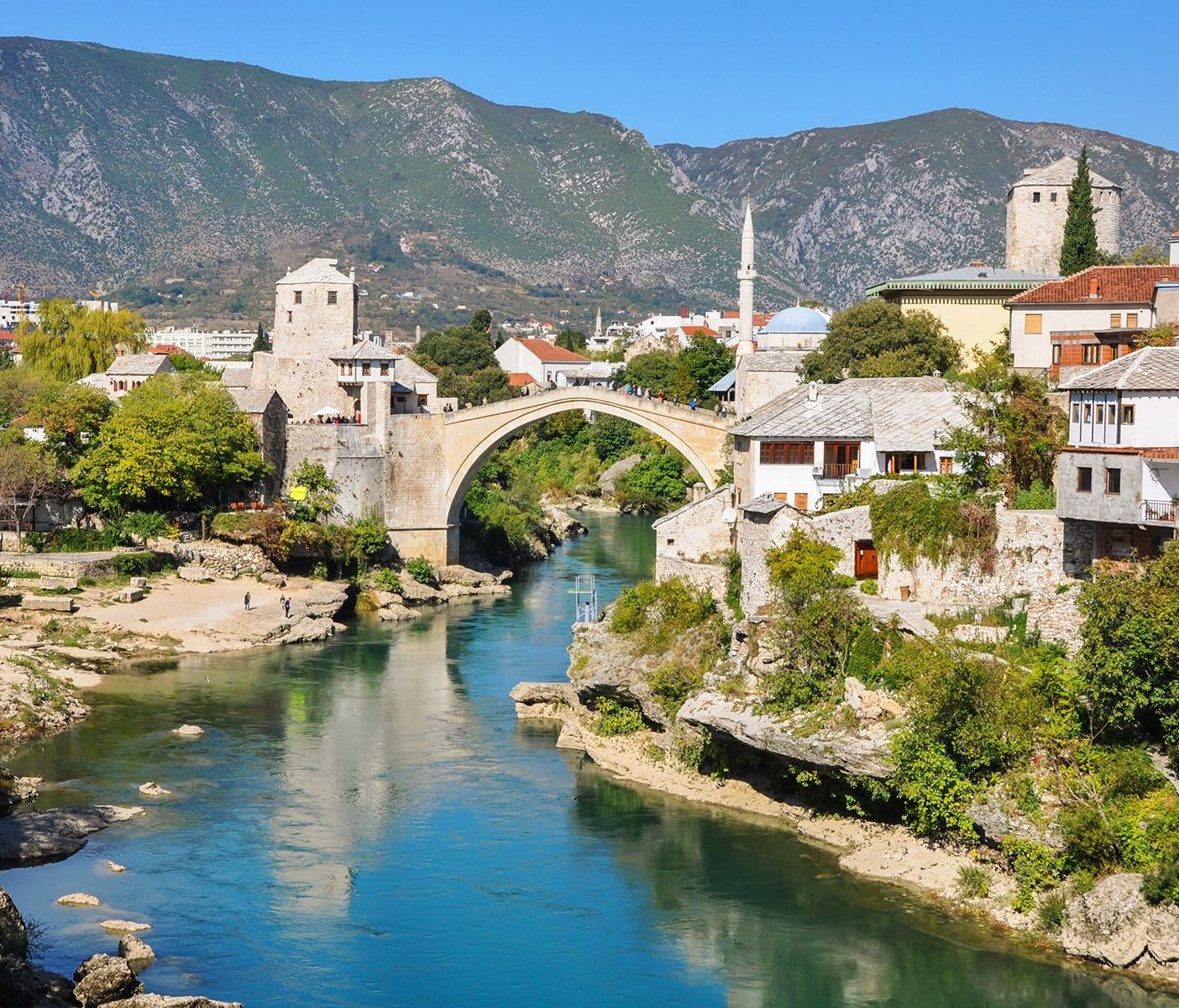 A trip to Mostar, Bosnia-Herzegovina, is one of Europe's richest experiences.