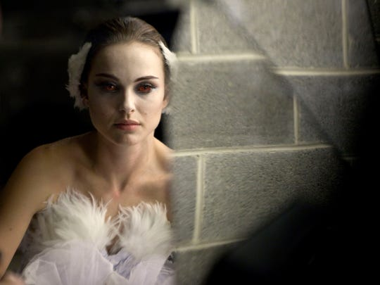 "Natalie Portman stars as an obsessed ballerina in ""Black Swan."""