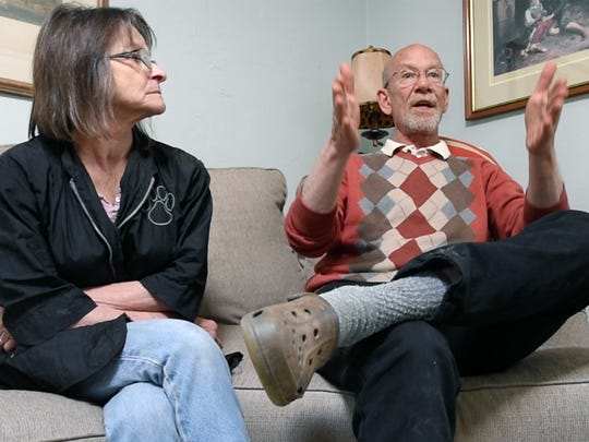 In York Township, Rose-Marie Walsh and Chris Walsh talk about Belgians not surprised by terrorism.
