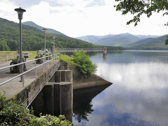 Most of Asheville's drinking water comes from the North Fork Reservoir. The system has seen a decrease in water usage since the COVID-19 pandemic shut down a lot of businesses, hotels and restaurants in the Asheville area.