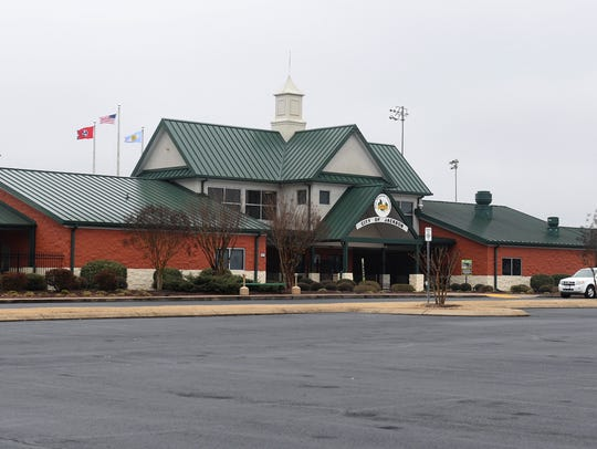 The West Tennessee Healthcare Sportsplex.