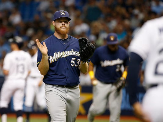 MLB: Milwaukee Brewers at Tampa Bay Rays