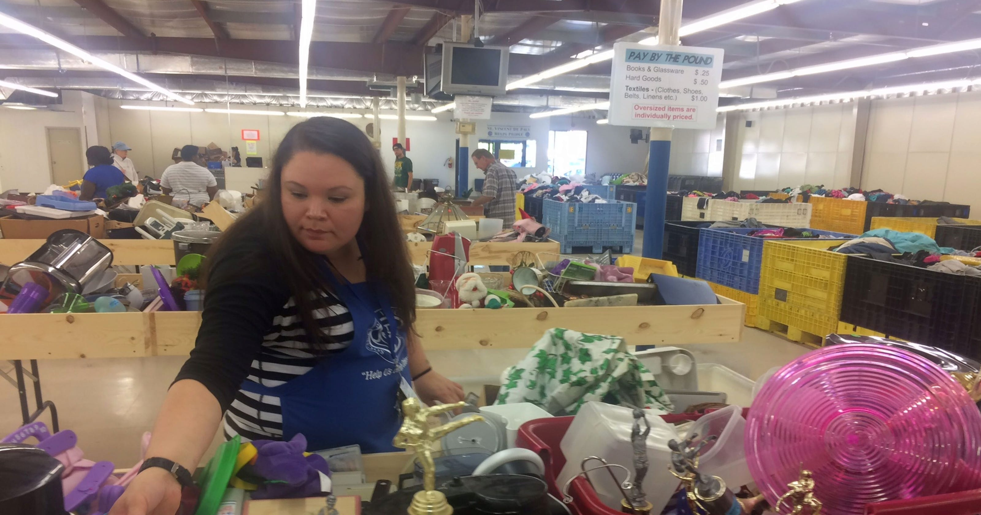 St Vincent De Paul Digs In With Local