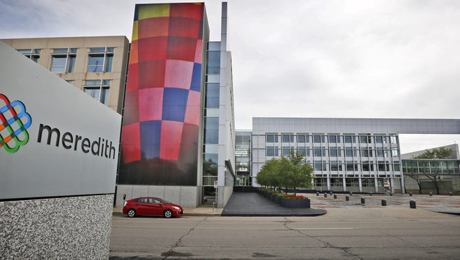 The Meredith Corp. headquarters in Des Moines Tuesday, Sept. 8, 2015. Media General, which owns or operates 71 television stations nationwide, reached a deal Tuesday to acquire Meredith Corp. for $2.4 billion, creating the third largest TV station operator in the U.S.