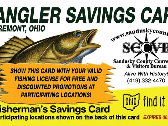 The Angler Savings Cards  offer discounts at area businesses