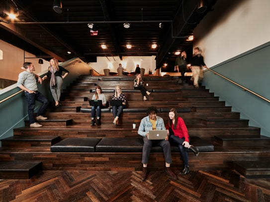 Workspace or amphitheater-style seating? It's really