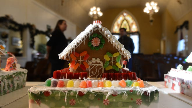 Entries in the annual Gingerbread House Contest organized by Heritage Square in Oxnard will be displayed  weekends from Dec. 3 to Dec. 17.