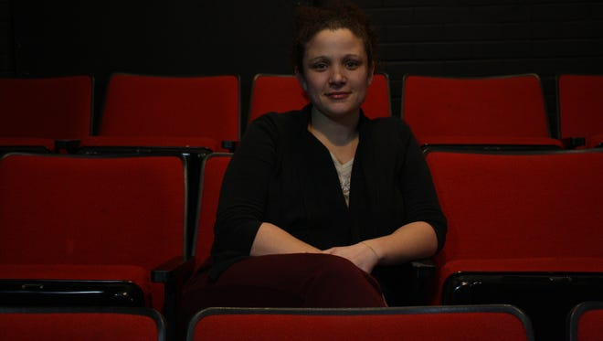 While Amoreena Wade has performed in various theaters throughout Binghamton, she spends a majority of her time at KNOW Theatre.