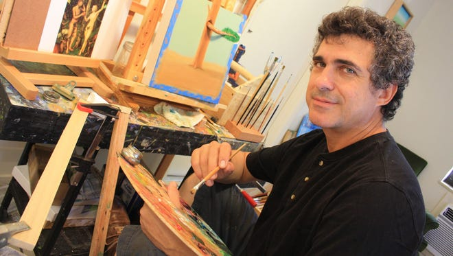 Manuel Ojea current artist-in-residence at Stouthouse.