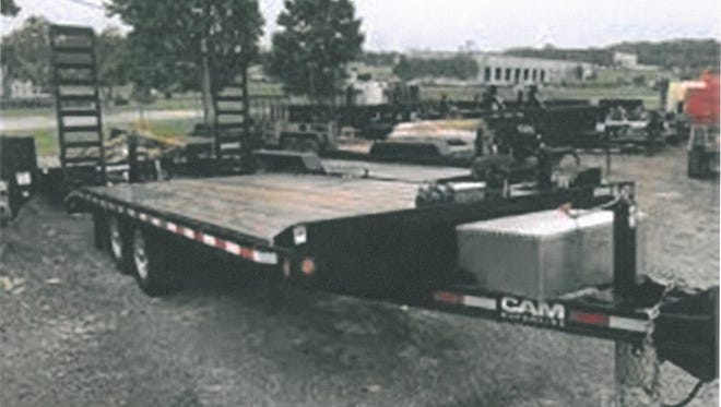 A trailer similar to this one was stolen the weekend of Sept. 9-10 from a lot near U.S. Highway 10.